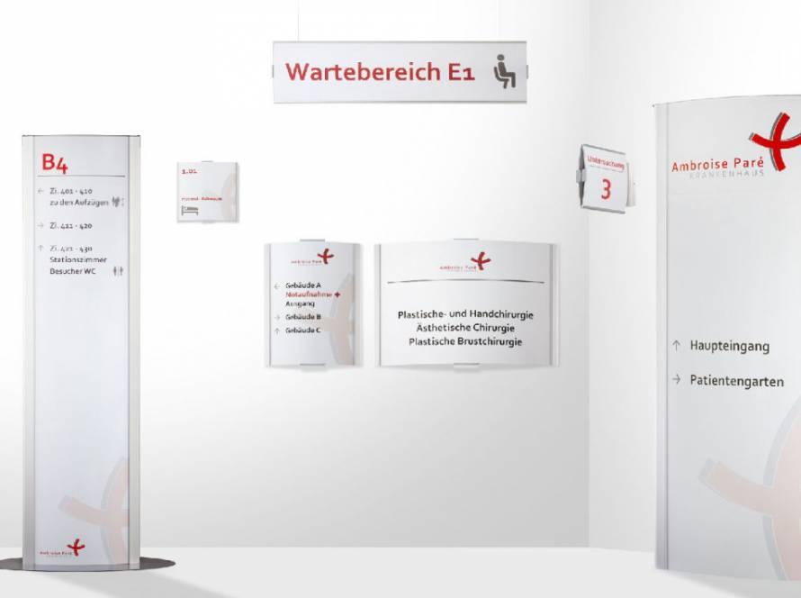 Leitsystem Frankfurt