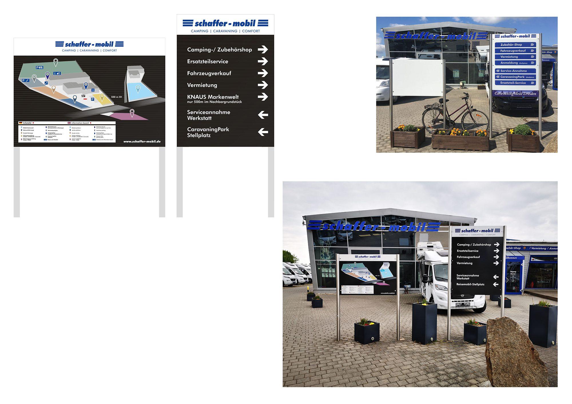 Schaffer-Mobil Leitsystem