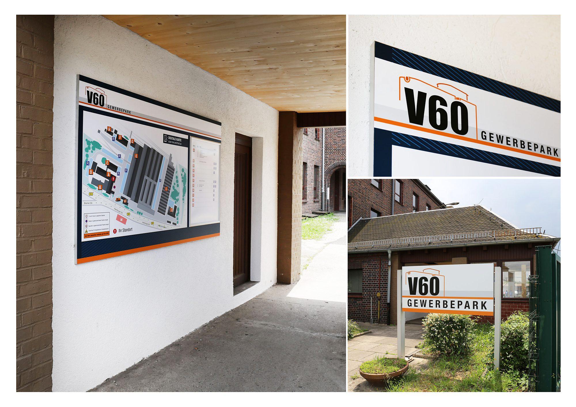 V60 Beschilderung