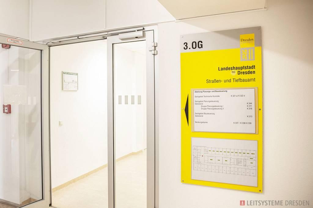 Leitsystem Landeshauptstadt Dresden