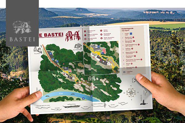 Leitsystem Bastei