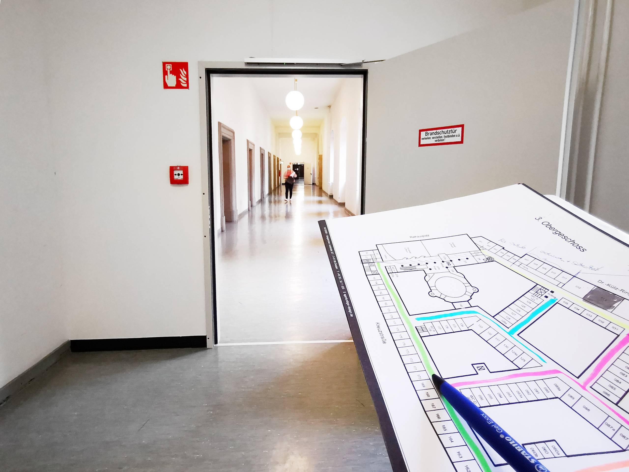 Planung neues Rathaus